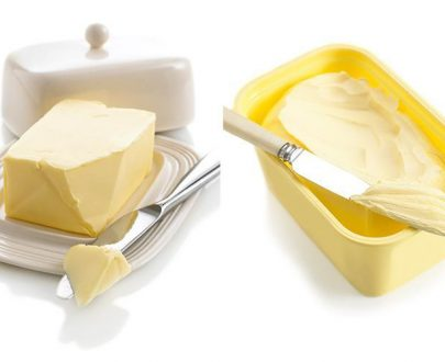 Ghee and butter
